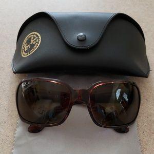 Ray Ban sunglasses, polarized